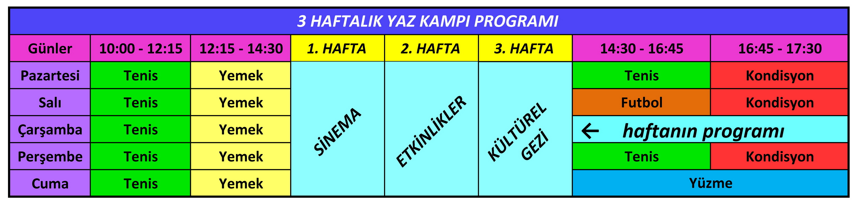 haftalk program son